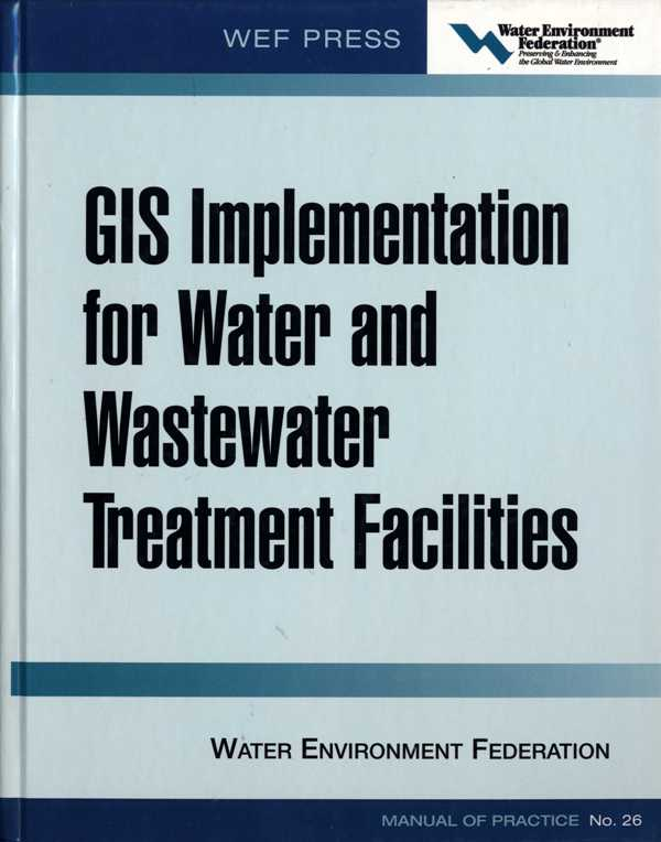 GIS implementation for water and wastewater treatment facilities005